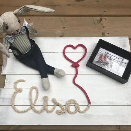 Personalised Baby Name Decor, Bedro..
