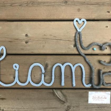 Nursery Name,Elephant Wall Decorati..