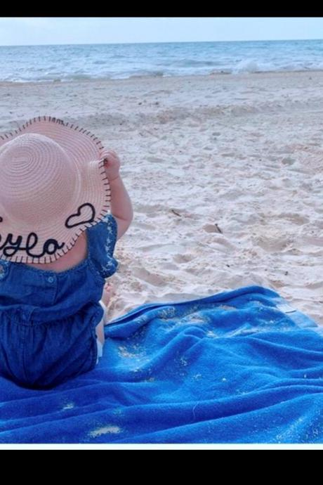 Kids Hat,Toddler Custom Hat,Kids Custom Hat,Toddler Hats,Personalized Gift,Personalized Baby Custom Name Hat,Kids Floppy Hat,Kids Summer Hat